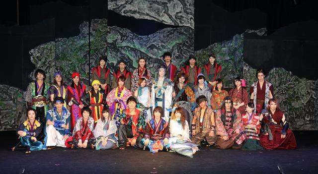 画像: 大島峻、栗生みな/舞台「蒼海のティーダ」、アクションと愛と平和への願いを込めて盛大に公演中