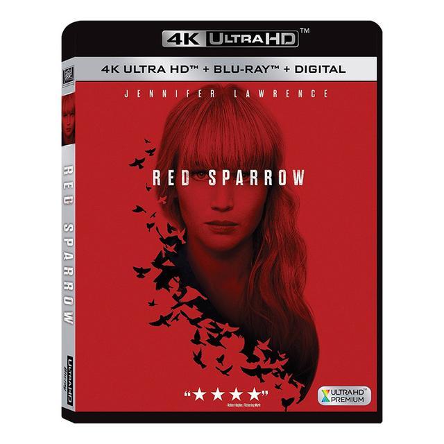 画像: 映画番長の銀幕旅行:『レッド・スパロー』ジェニファー・ローレンス主演スパイ・アクションがUHD BDで海外発売