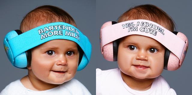 画像: キッズ/ベビーの耳を騒音から守るイヤープロテクター、THUNDERPLUGS 「BananaMuffs」誕生