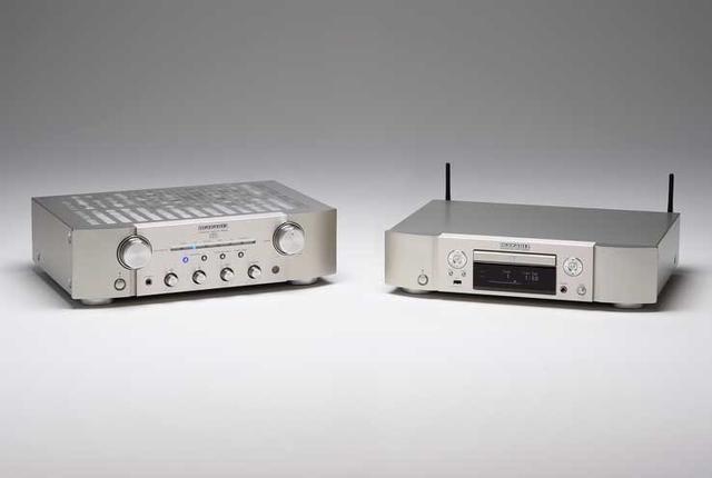画像: マランツの中級プリメイン「PM8006」とCD&ネットワークプレーヤー「ND8006」は、本格的システム作りの第一歩に最適