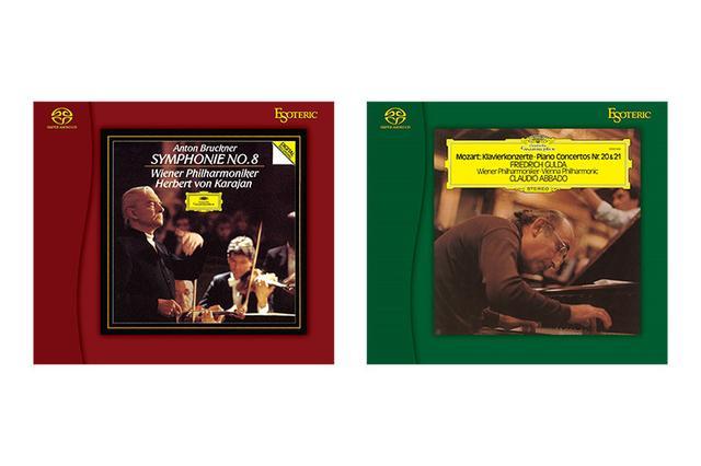 画像: 【予約受付開始】ESOTERICのSACD『ブルックナー:交響曲第8番』と『モーツァルト:ピアノ協奏曲第20番 第21番』が発売