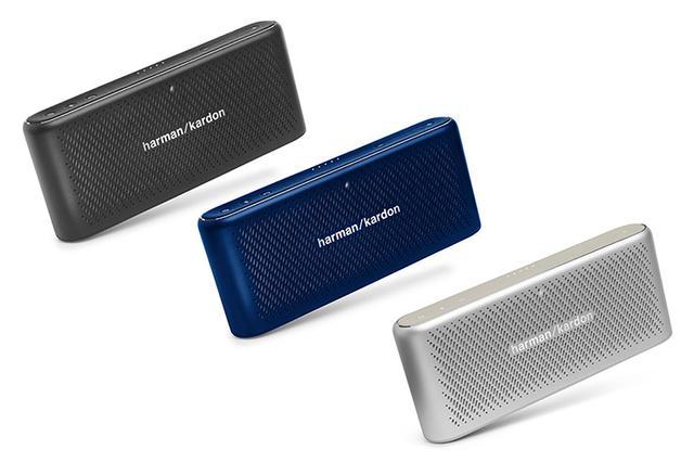 画像: ハーマンカードン、Bluetoothスピーカー「TRAVELER」を発売。15,880円。スタイリッシュなアルミボディ採用