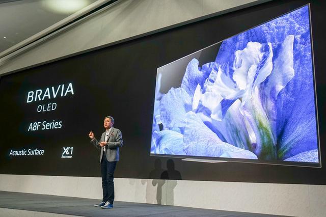 画像: 【CES2018速報まとめ08】ソニー、55型で2,500ドルの有機ELテレビ「A8F」を発表。新映像回路の驚愕デモも