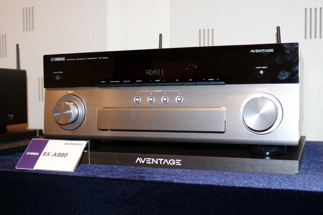 画像: 【速攻レビュー付】ヤマハ、AVアンプ「RX-A780」「RX-A880」を発売。新ネットワークモジュールでS/Nアップ
