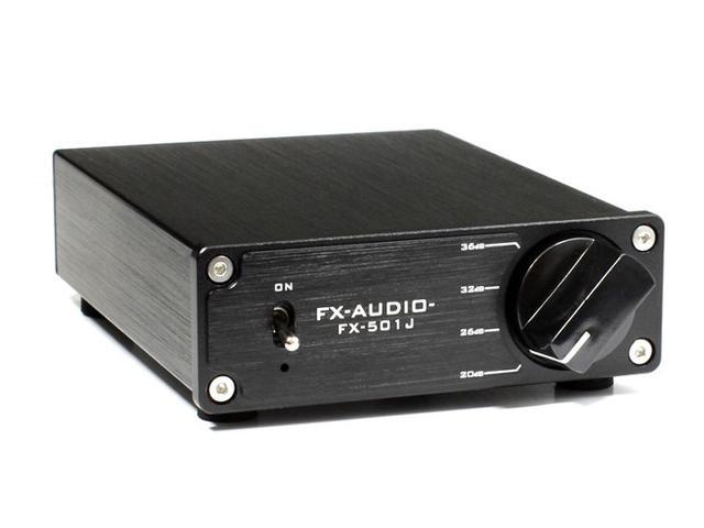 画像: FX-AUDIO、出力100Wのモノラルパワーアンプ「FX-501J」、本日1/31より発売。価格はなんと3980円!