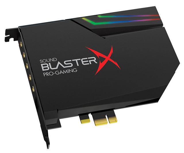画像: PCM 384kHz/32bitのハイレゾ対応サウンドカード、クリエイティブ「Sound BlasterX AE-5」