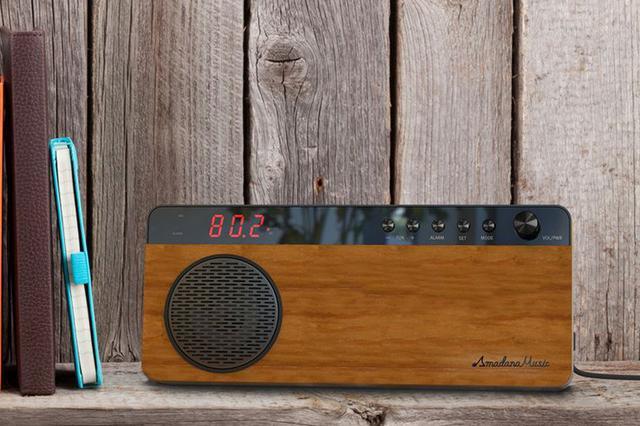 画像: ビックカメラ、アマダナが手掛けたBluetooth内蔵FMラジオ「Amadana Music Radio」を9/1より販売