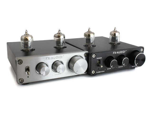 画像: FX-AUDIO-、ハイブリット式のプリアンプ「TUBE-03J」発売。トーンコントール機能も装備して、5,980円