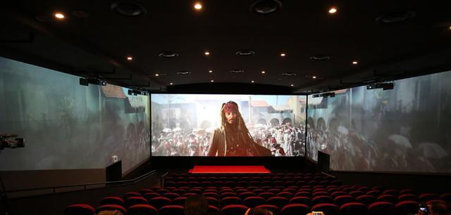 画像: 眼前を埋め尽くす映像の臨場感!7/1より「Screen X」仕様で『パイレーツ・オブ・カリビアン』上映