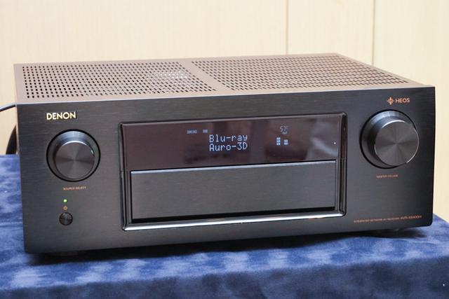 画像: デノン、国内ブランド初のAuro-3Dサラウンド対応AVアンプ「AVR-X6400H」「AVR-X4400H」を発表