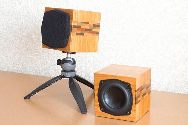 画像: Soundfort、箱根寄木細工がアクセントの小型スピーカー「SP-H200 Limited」を42,800円で数量限定発売