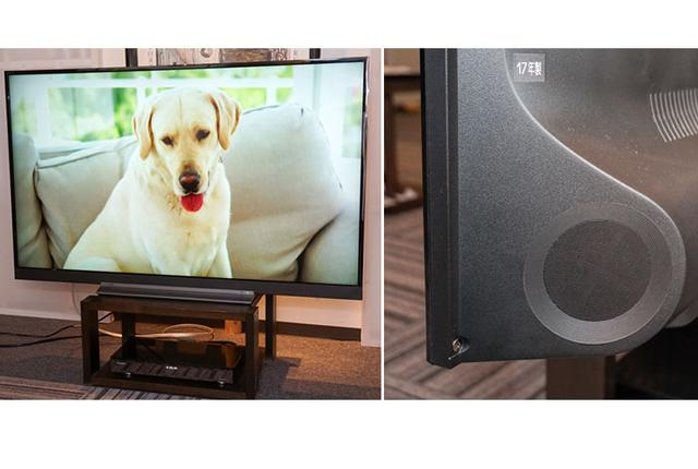 """画像: SSO新製品レビュー:東芝4K液晶テレビに""""重低音バズーカ""""復活。その名に恥じないサウンドだ"""