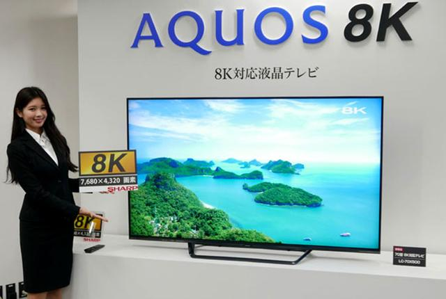 画像: シャープ、家庭用初の8K液晶テレビとして70型の「LC-70X500」を12/1より販売開始! 中国、台湾、欧州でも発売
