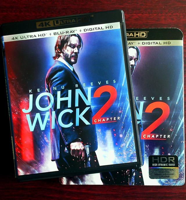 画像: 映画番長がUHD BDをレビューする新企画【世界4K-Hakken伝】第1回はキアヌ主演『ジョン・ウィック:チャプター2』