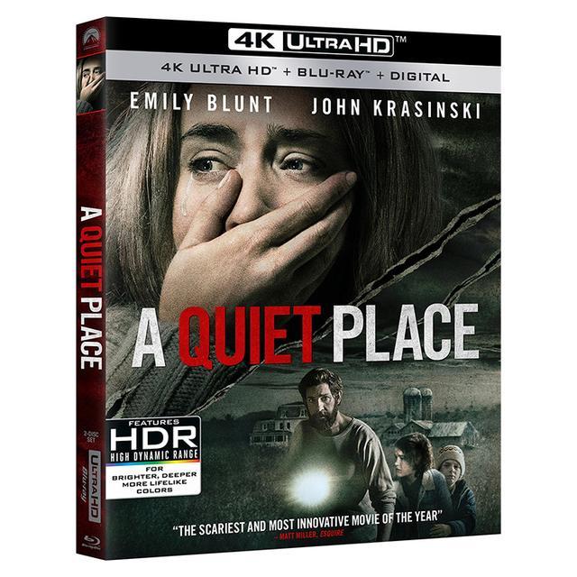 画像: 海外盤速報『クワイエット・プレイス』傑作ホラーがUHD Blu-rayで7/10リリース【映画番長の銀幕旅行】