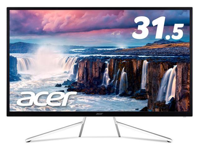 画像: Acer、HDRに対応した31.5型の4Kモニター「ET3322QKwmiipx」、11/10より発売。5.5万円