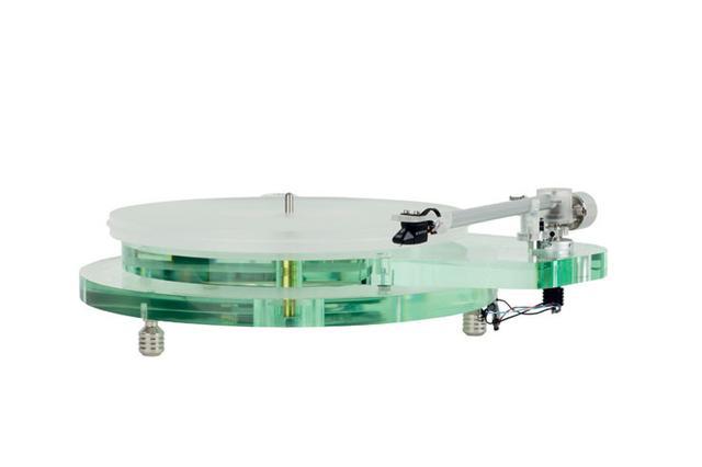 画像: ROKSAN、ガラス仕上げのようなアナログプレーヤー「RADIUS 7」4/20に発売。トーンアーム付属で36万円!