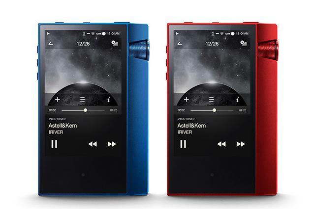 画像: アステル&ケルン、DAP「AK70 MKII」の日本限定カラーMarine BlueとSunshine Redを各600台発売