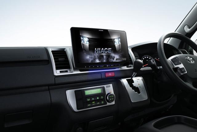 画像: アルパインの大画面ナビ「ビッグX」セレナ専用11型やカムリ専用9型を発売18年にはフローティングビッグX11投入