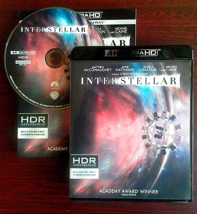 画像: UHD Blu-rayレビュー【世界4K-Hakken伝】『インターステラー』 クリストファー・ノーラン監督作