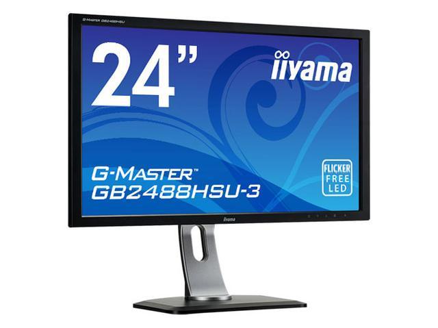 画像: マウスコンピューター、24型のゲーミングディスプレイ「G-MASTER GB2488HSU-3」、7/19発売