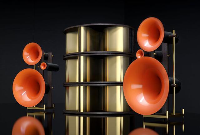 画像: ドイツ、アバンギャルド創立26周年記念ホーンスピーカー「TRIO LUXURY EDITION 26」が登場。全世界で26セットの限定生産