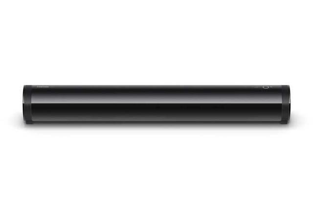 画像: 東芝バズーカ型サブウーファー「RSS-BA51」レビュー:画面と音の一体感が向上。手軽な低音増強法として的を射ている