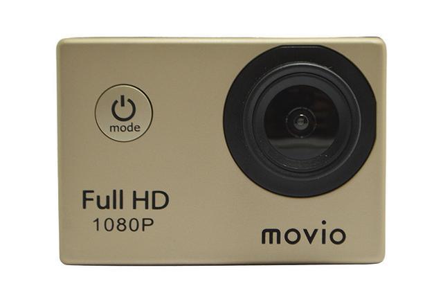 画像: ナガオカ、アウトドアデジタル機器ブランドMOVIOの取扱いを開始。第1弾はフルHDアクションカメラ「M101FHD」5,480円