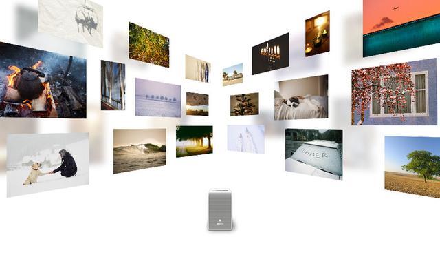 画像: ソニー、小型の超短焦点プロジェクター「LSPX-P1」の最新アップデートを本日公開。ポスター写真等の無料配信に対応