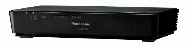画像: パナソニックの新4K放送対応のチューナー「TU-BUHD100」。10月中旬の発売で、価格は3万円台前半を予定している