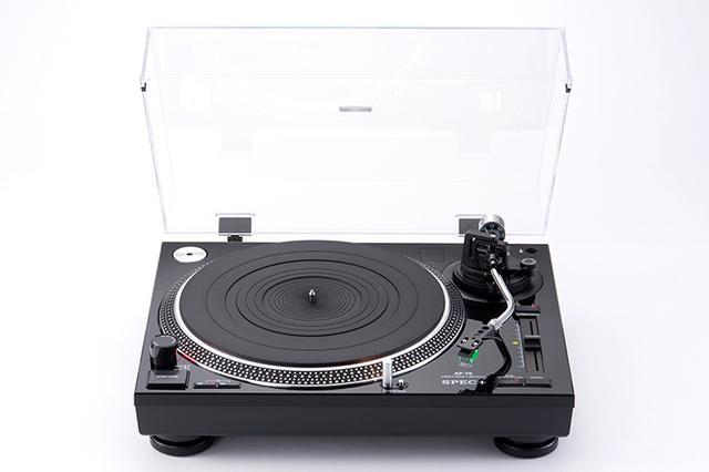 画像: SPEC+、レコードプレーヤー「AP-70」を62,000円で発売。78回転にも対応したダイレクトドライブ機