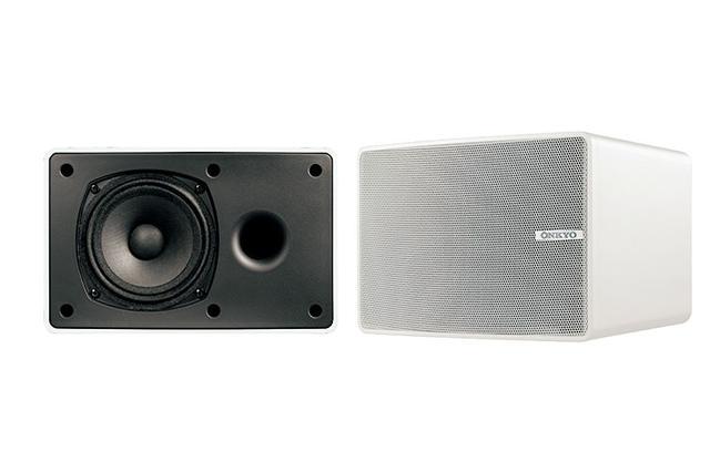 画像: オンキヨー、業務用スピーカー「D-PS100」のホワイトモデルを1月下旬に追加。別売金具で天井/壁面設置にも対応