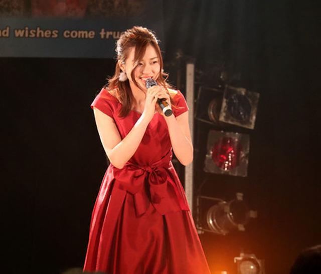 画像: 青木千春(WHY@DOLL)/真紅のドレスで迎えた25歳のソロ生誕で、情熱的なステージを披露