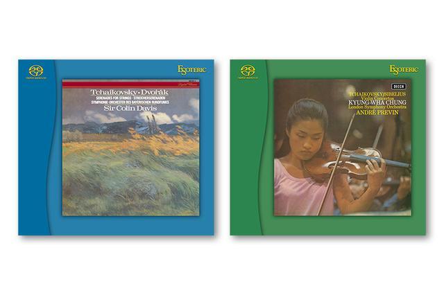 画像: ESOTERICの名盤復刻シリーズSACD、名匠デイヴィス指揮の弦楽セレナード集とチョン・キョンファ演奏集を発売