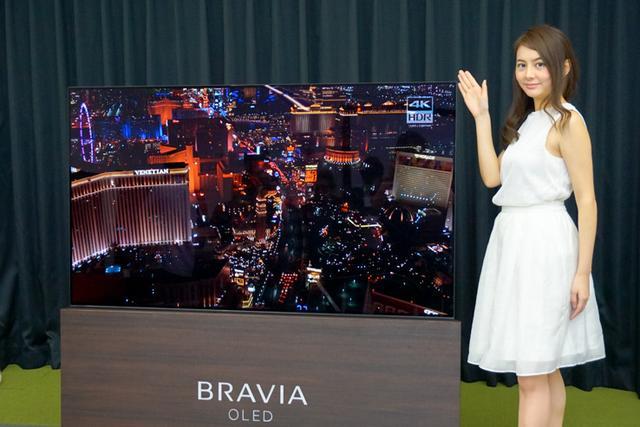 画像: ソニー初の有機ELブラビア「A1」55型で50万円から!液晶モデルは4シリーズが登場