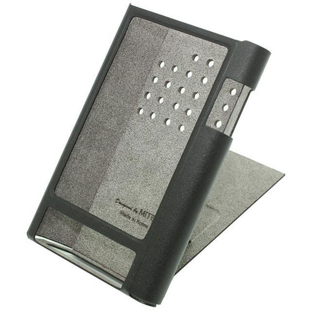 画像: 高級DAPアステル&ケルンKANN専用の本革ケース、6/8より発売。スタンド機能付き