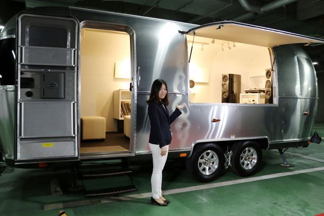 画像: テクニクス製品の試聴ができる専用トレーラー完成! 5月6日に六本木でデビュー