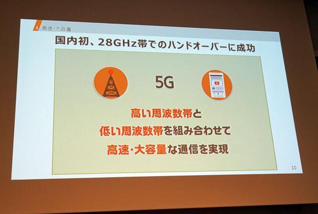 画像: KDDIが次世代移動通信「5G」検証で28GHz帯のハンドオーバー実験に成功2020年の実用化を目指す