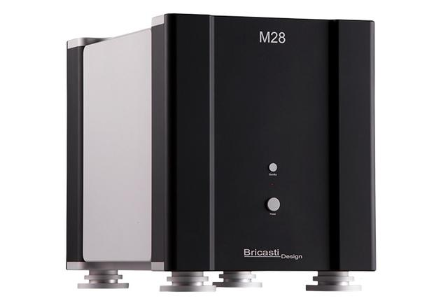 画像: 米ブリキャスティ・デザインのモノーラル・パワーアンプM28SE。強力な電源部で高リニアリティを目指す