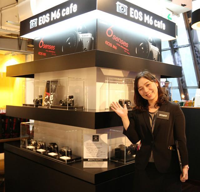 画像: キヤノン、ミラーレス一眼の最新モデル「EOS M6」発売記念。渋谷でコラボカフェを展開