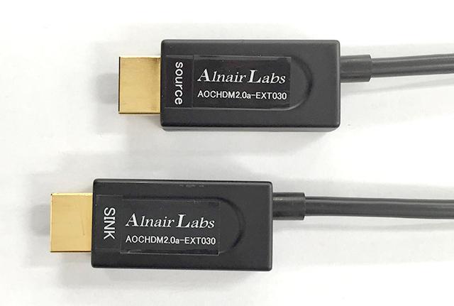 画像: 100mの4K/60p/HDR伝送を保証したHDMIケーブル、光測定器などを手掛けるアルネアから登場