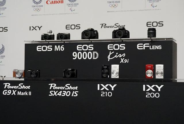 画像: キヤノンがデジカメの新製品を発表一眼レフ「EOS Kiss X9i」やミラーレス「EOS M6」など全7機種