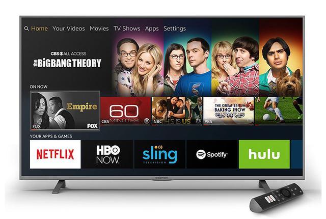 画像: 米Amazonが音声入力アシスタントAlexa搭載の4K液晶スマートテレビ「Amazon Fire TV Edition」発表