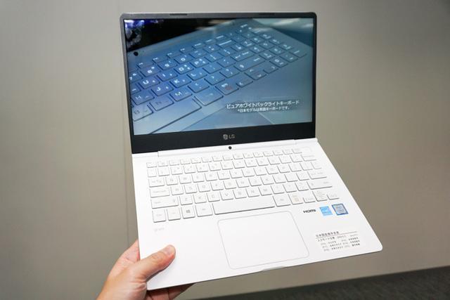 画像: LG、軽量&スタミナノートPC「LG gram」4モデルを発売14型は970g、17時間駆動を実現