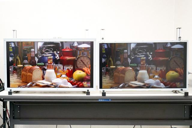 """画像: パナソニック、""""漆黒""""を実現した新型IPS液晶パネルを披露8K+レーザーバックライト技術も"""