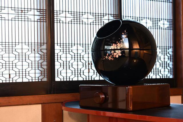 画像: 会津塗の真空管アンプ「彩-AYA-」の試聴会実施中、一日一組のプレミアム体験へ