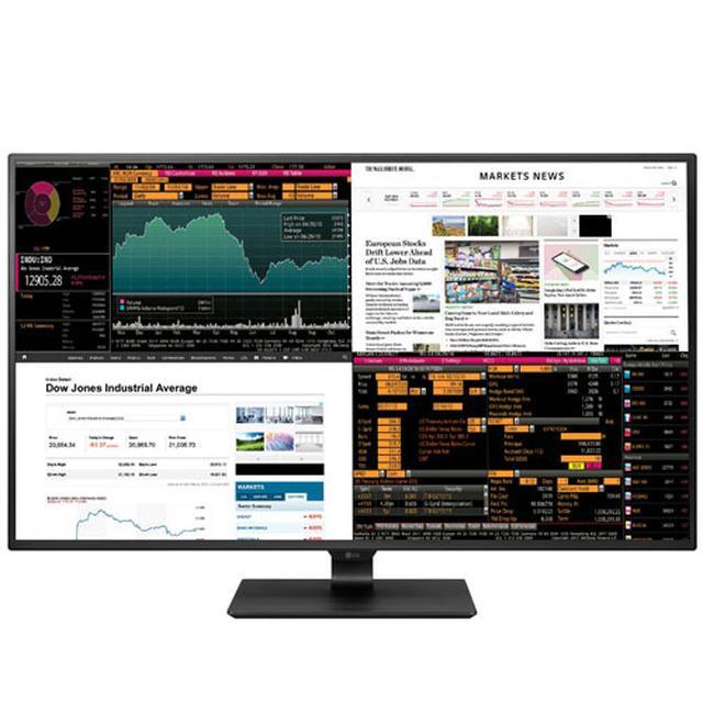画像: LG、5月19日から42.5インチの4KPCモニターを発売。フルHDの4画面同時表示も可能