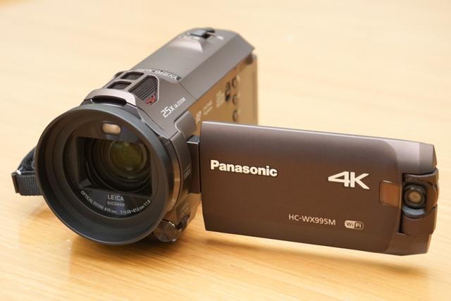 """画像: パナソニック4Kカメラレコーダー""""あとから補正""""が進化したHC-WX995M/HC-VX985M"""