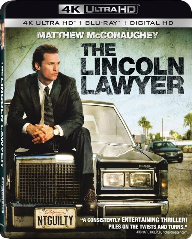 画像: 映画番長の銀幕旅行 5/24公開ちょいワル弁護士を4Kで 『リンカーン弁護士』(UHD BD)