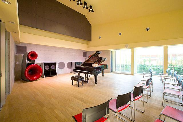 画像: 大阪・岸和田のむくの木ホールで、「音楽の心を伝える再生装置」の特別講演を実施。4/8・4/9の2日間